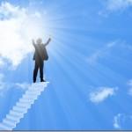 成功に対する意識の段階的なステージ<成功とインスピレーション力の関係>